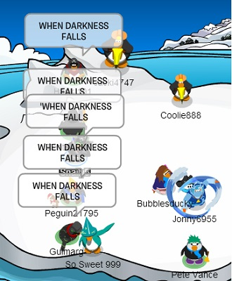 When Darkness Falls!